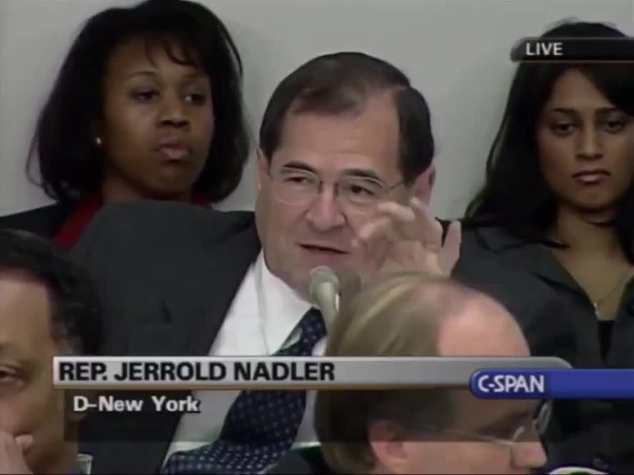 Nadler talking about mailing votes being source of fraud